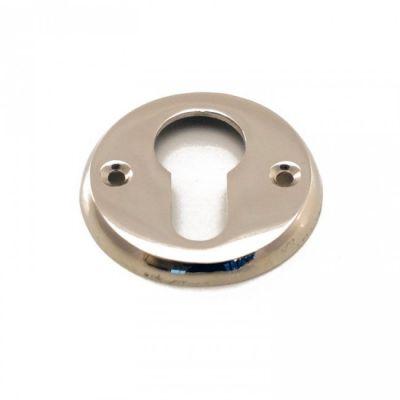 Rozet rond cilinder blinkend nikkel (RZR-CI-BN)