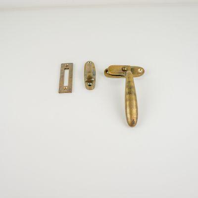Raamsluiting Dudok rechts brons antiek (RS-DUD-R-BA)